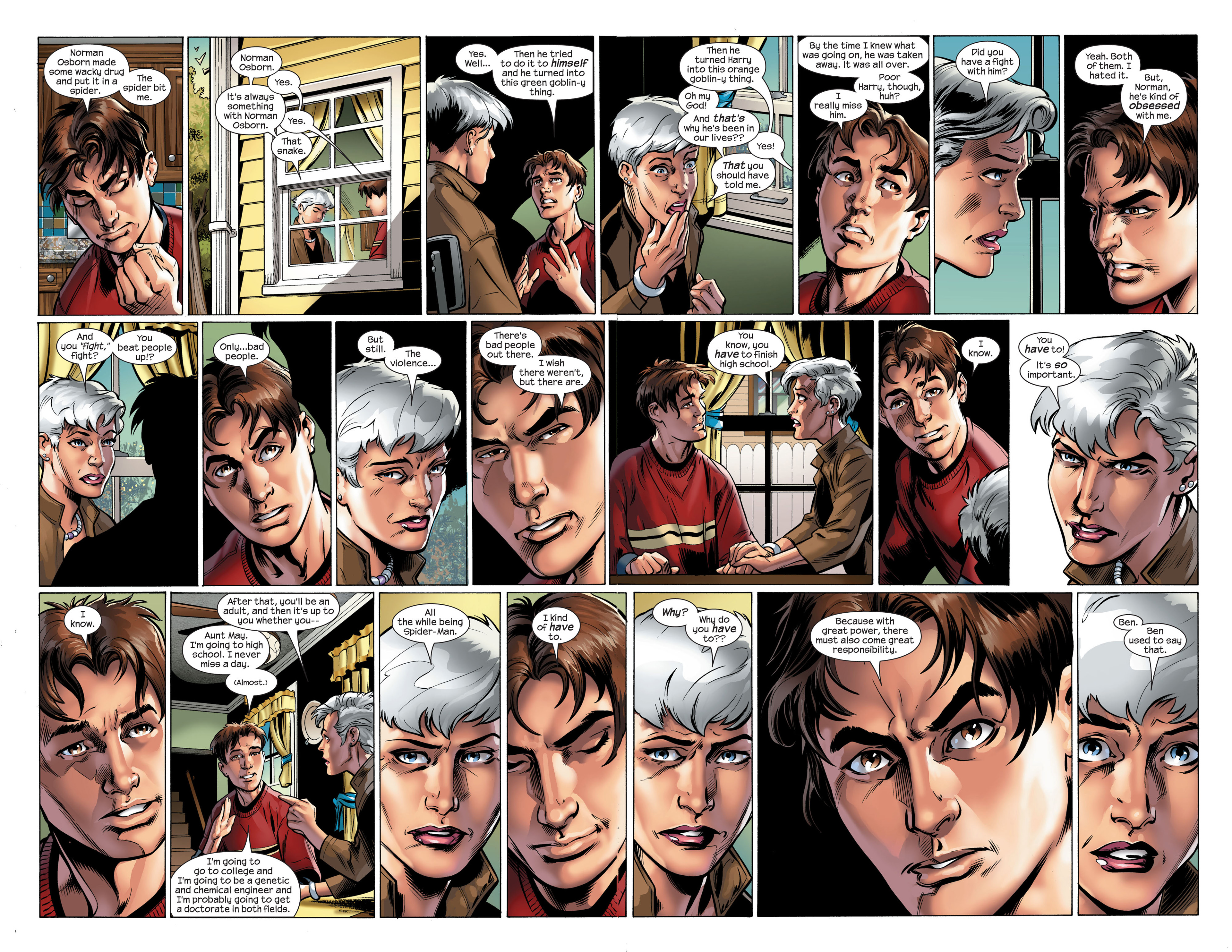 Read online Ultimate Spider-Man (2000) comic -  Issue #111 - 5