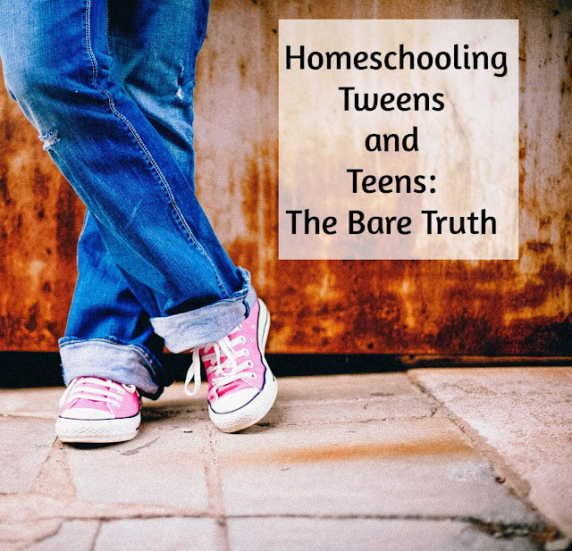 Homeschooling Teens and Tweens: The Bare Truth