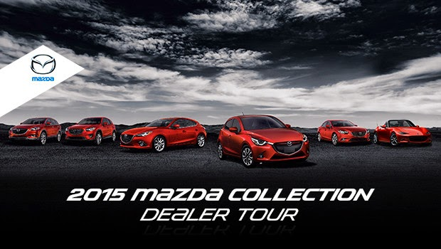 The 2015 Mazda Collection Dealer Tour