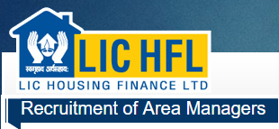 LIC Housing Finance,Area Managers recruitment,notification