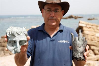Ισραήλ: Θησαυρός 1.600 ετών στο αρχαίο λιμάνι της Καισάρειας