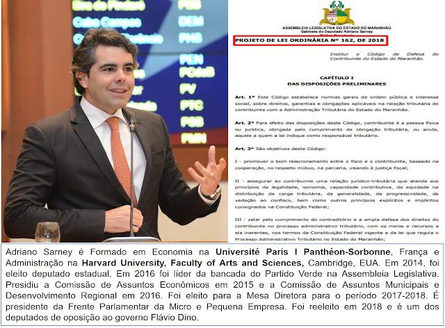 Deputado tem Projeto de Lei aprovado para deter a sanha arrecadatória de Flávio Dino