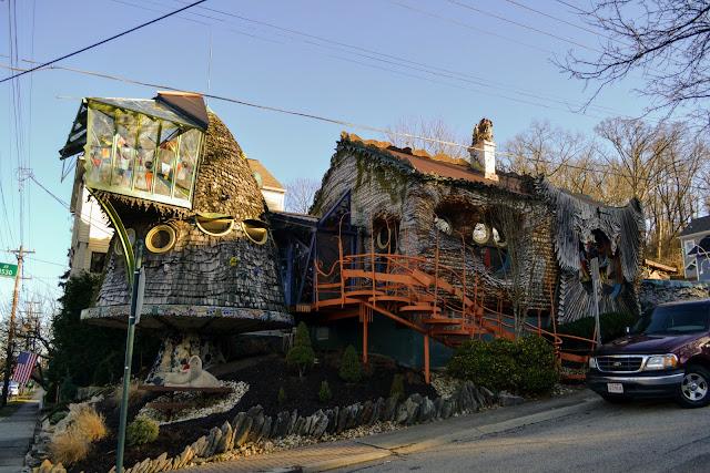 Будинок-гриб. Цинциннаті. Огайо (The Mushroom House, Cincinnati, OH)