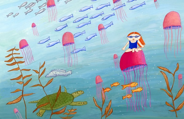 Fishy in the Sea by Karyn Raz