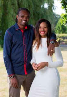 The wife of the super Eagles international is wishing her husband happy birthday