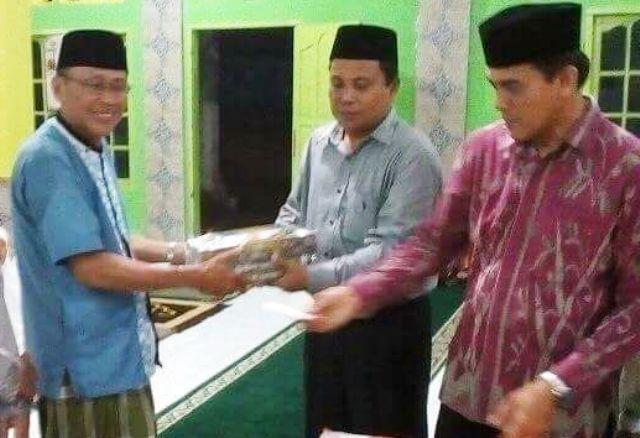 Dikunjungi Tim Safari Ramadhan,  Ketua Masjid Sungai Durian Zulkarnidi : Terima Kasih Atas Perhatian Pemerintah