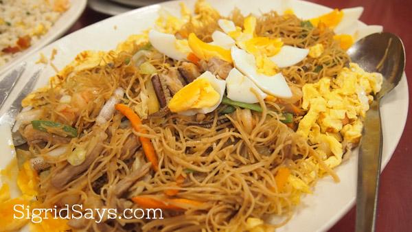 Bacolod restaurants - Chinese restaurant- Golden of Fortune - birthday misua - Bacolod blogger