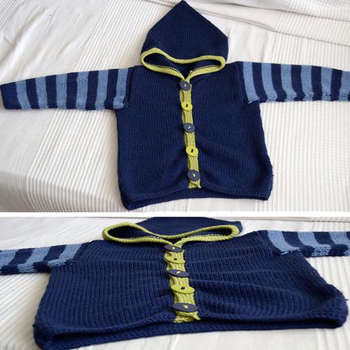 Knit Hoodie - Free Pattern