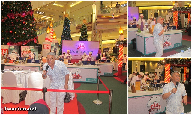 The crowd couldn't get enough of Datuk Chef Wan