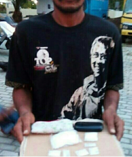 Seorang Warga Aceh Besar, Diduga Bandar Narkotika diamankan petugas