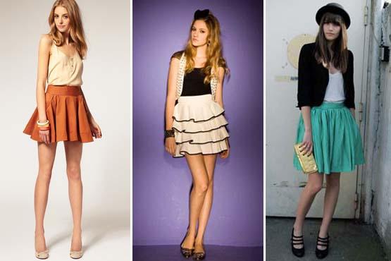 8f94eb51e0 ... entrar na moda da saia de cintura alta. A escolha dos tecidos também  depende do seu gosto  leves e soltinhos no corpo ou mais estruturados e  justos