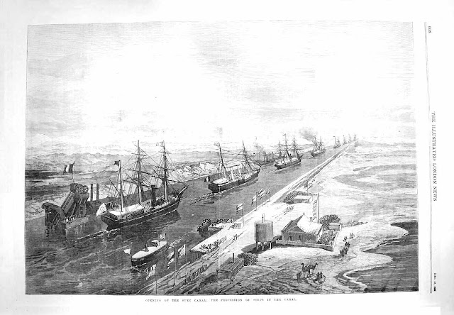 Suez Canal Opening