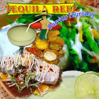 Tequila Reef Pattaya - Burrito Special