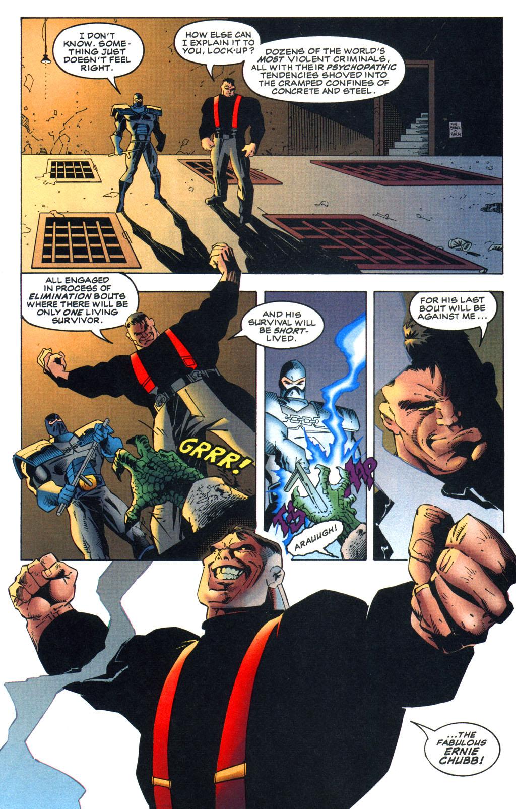 Read online Batman/Wildcat comic -  Issue #1 - 18