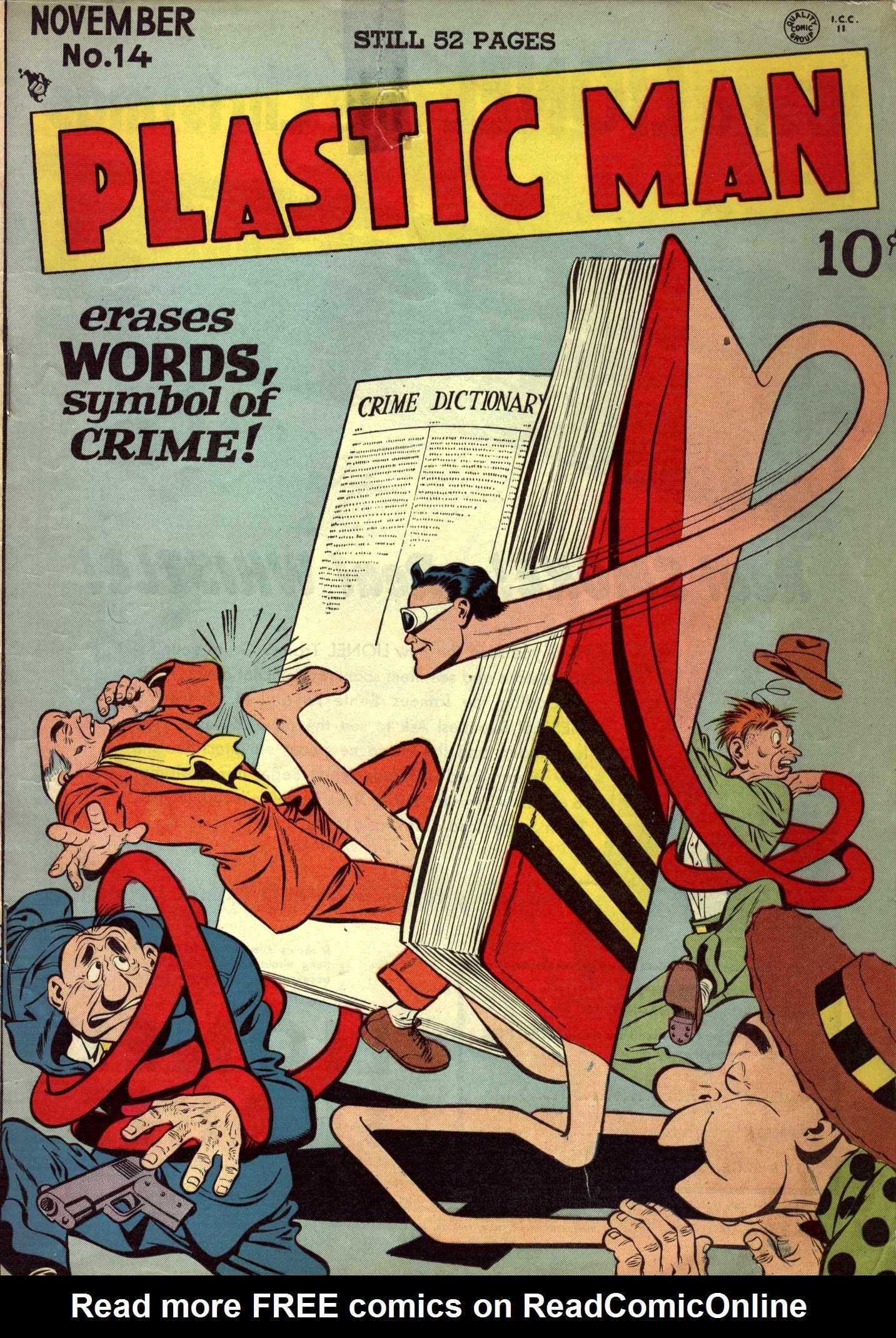 Plastic Man (1943) 14 Page 1