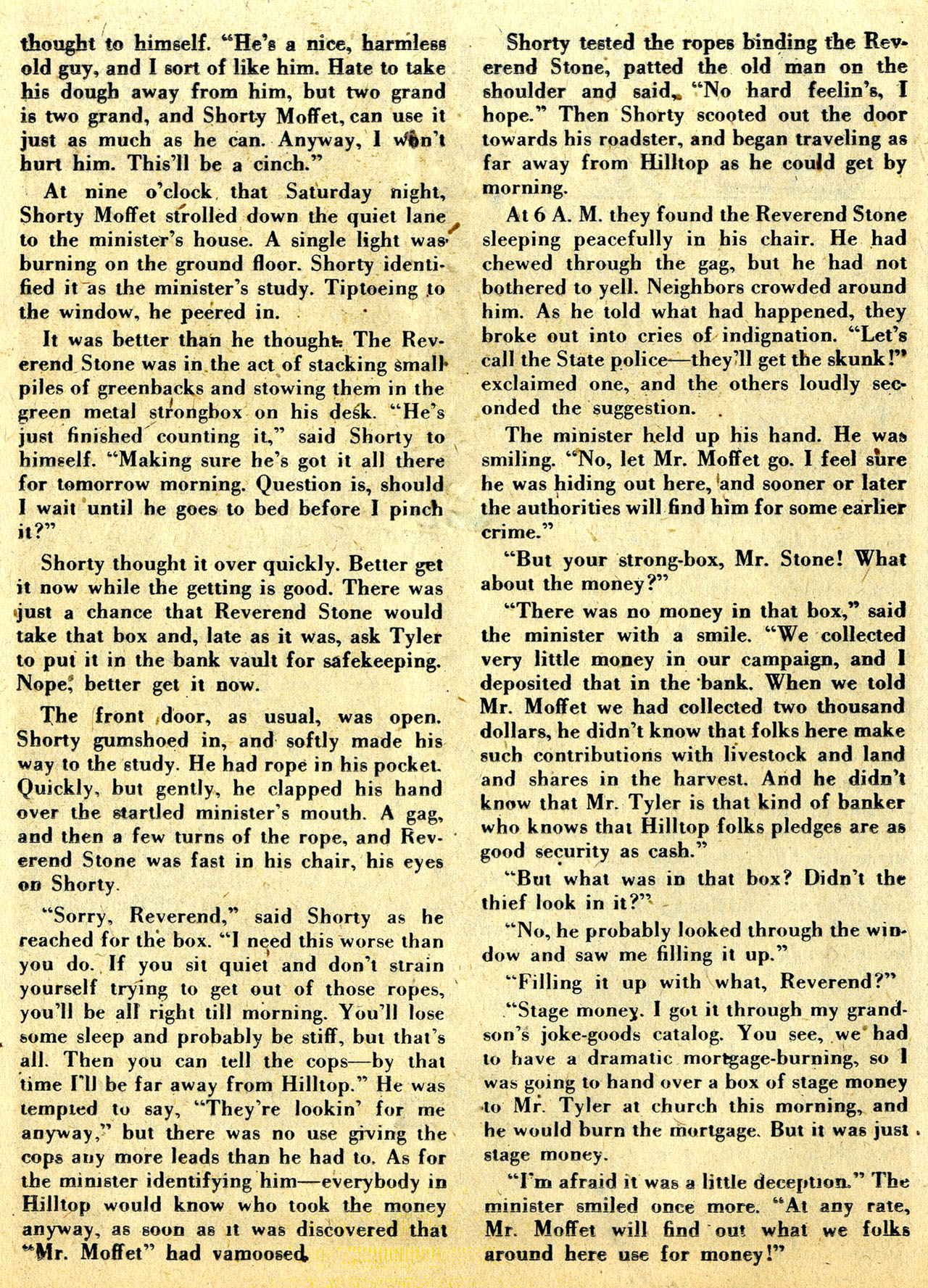 Read online Detective Comics (1937) comic -  Issue #133 - 36