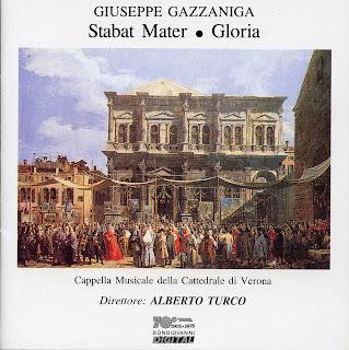 Gazzaniga: Stabat Mater & Gloria