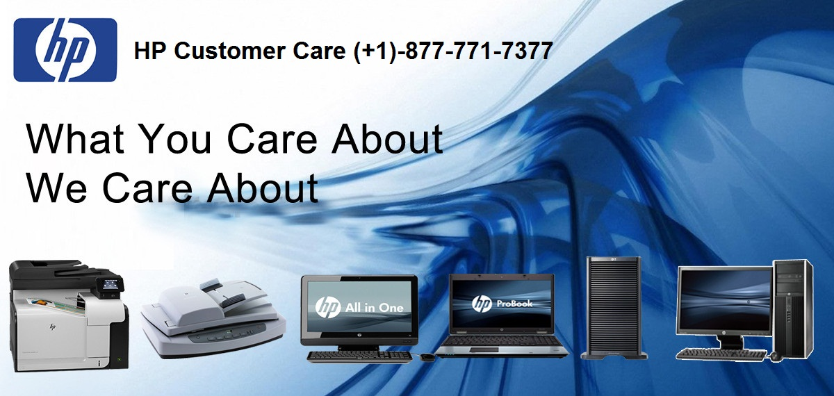 HP Customer Support | HP Helpline Number (+1)-877-771-7377
