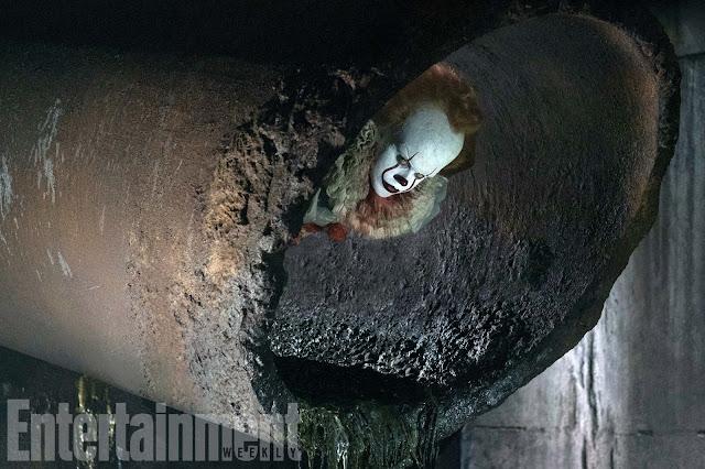 El payaso del remake de It asusta con esta nueva imagen