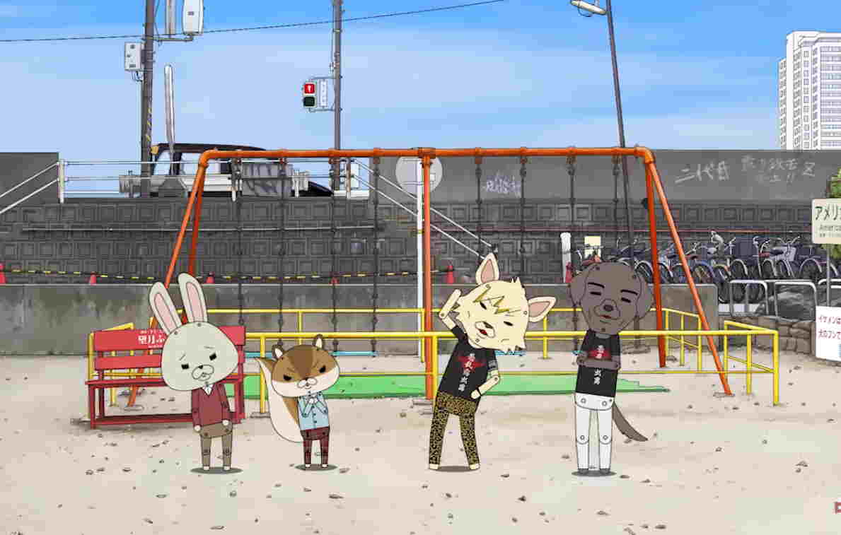 GRANRODEO Menjadi Animal Rocker di Anime Kami-Usagi Rope
