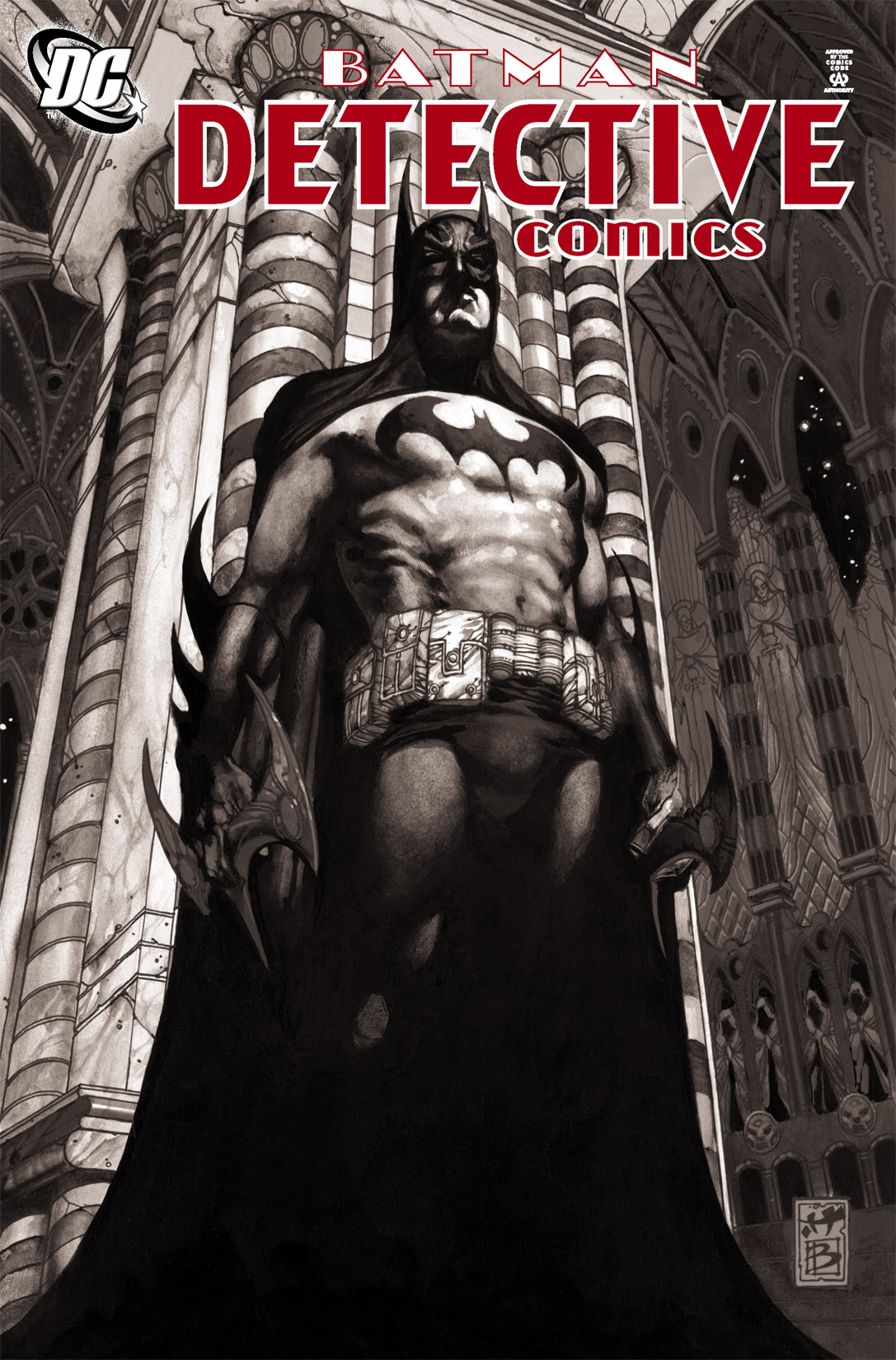Detective Comics (1937) 820 Page 1