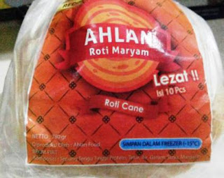 Roti Maryam AHLAN (By AHLAN FOOD)