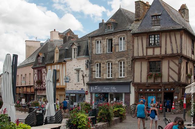 Malestroit diario viaje Bretaña Francia