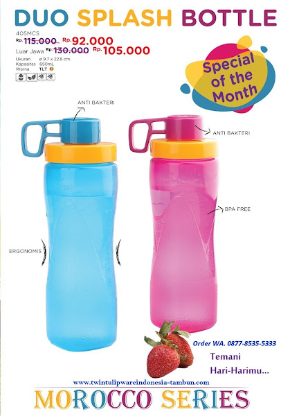Promo Diskon Duo Splash Bottle April 2018
