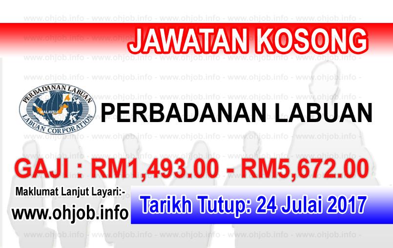 Jawatan Kerja Kosong Perbadanan Labuan - PL logo www.ohjob.info julai 2017