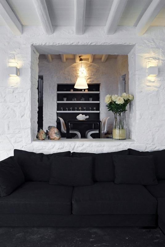 interior en blanco y negro chicanddeco