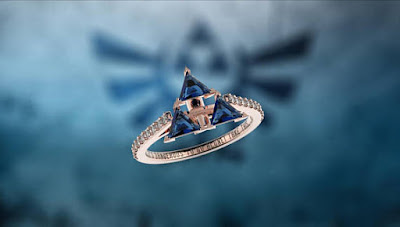 Triforce Inspired Ring