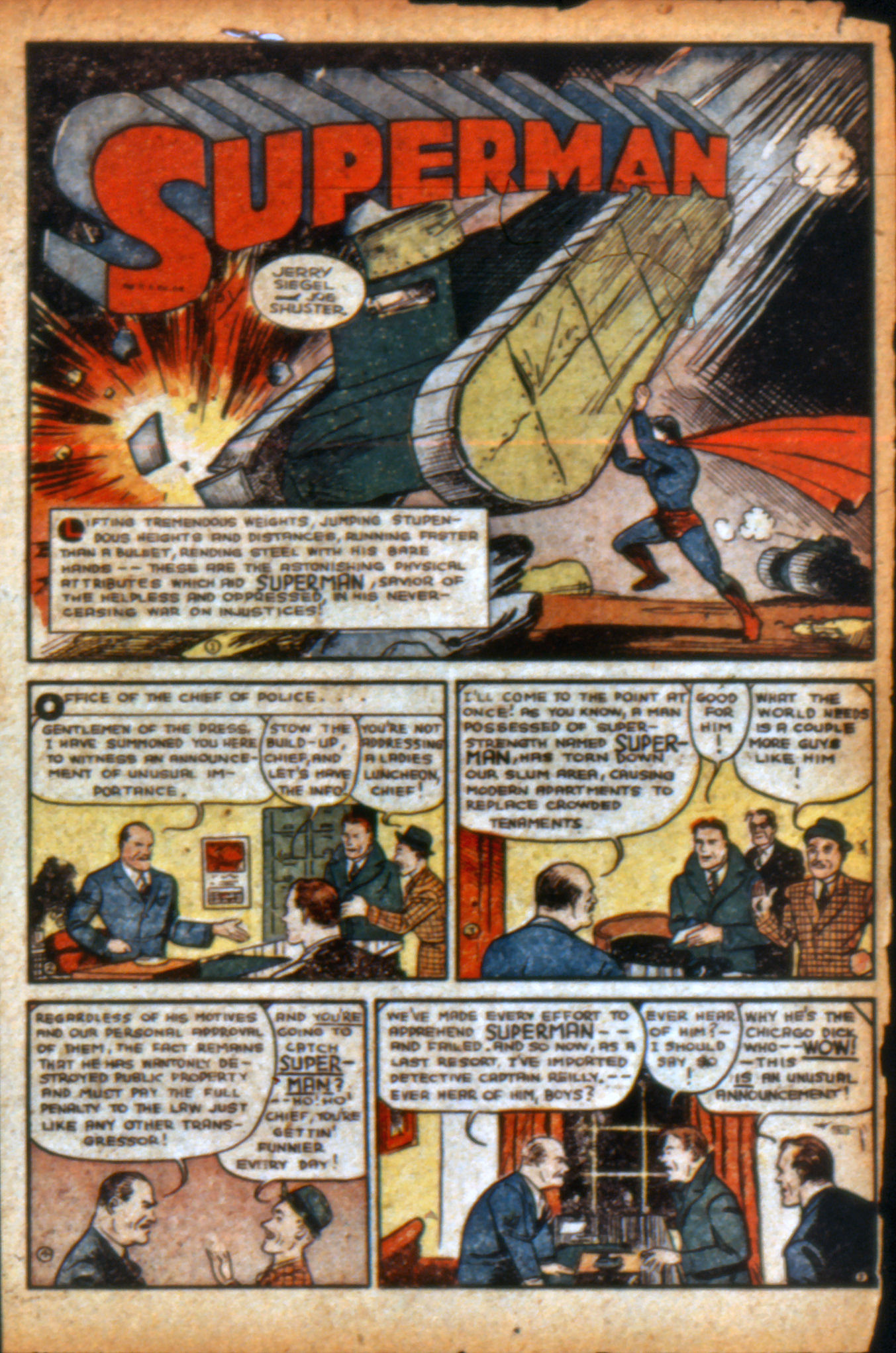 Read online Action Comics (1938) comic -  Issue #9 - 4