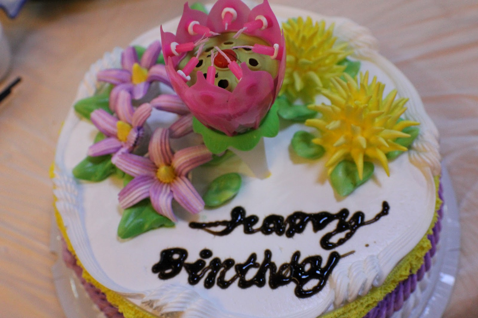 Tricky Trip Beautiful Birthday Cake D