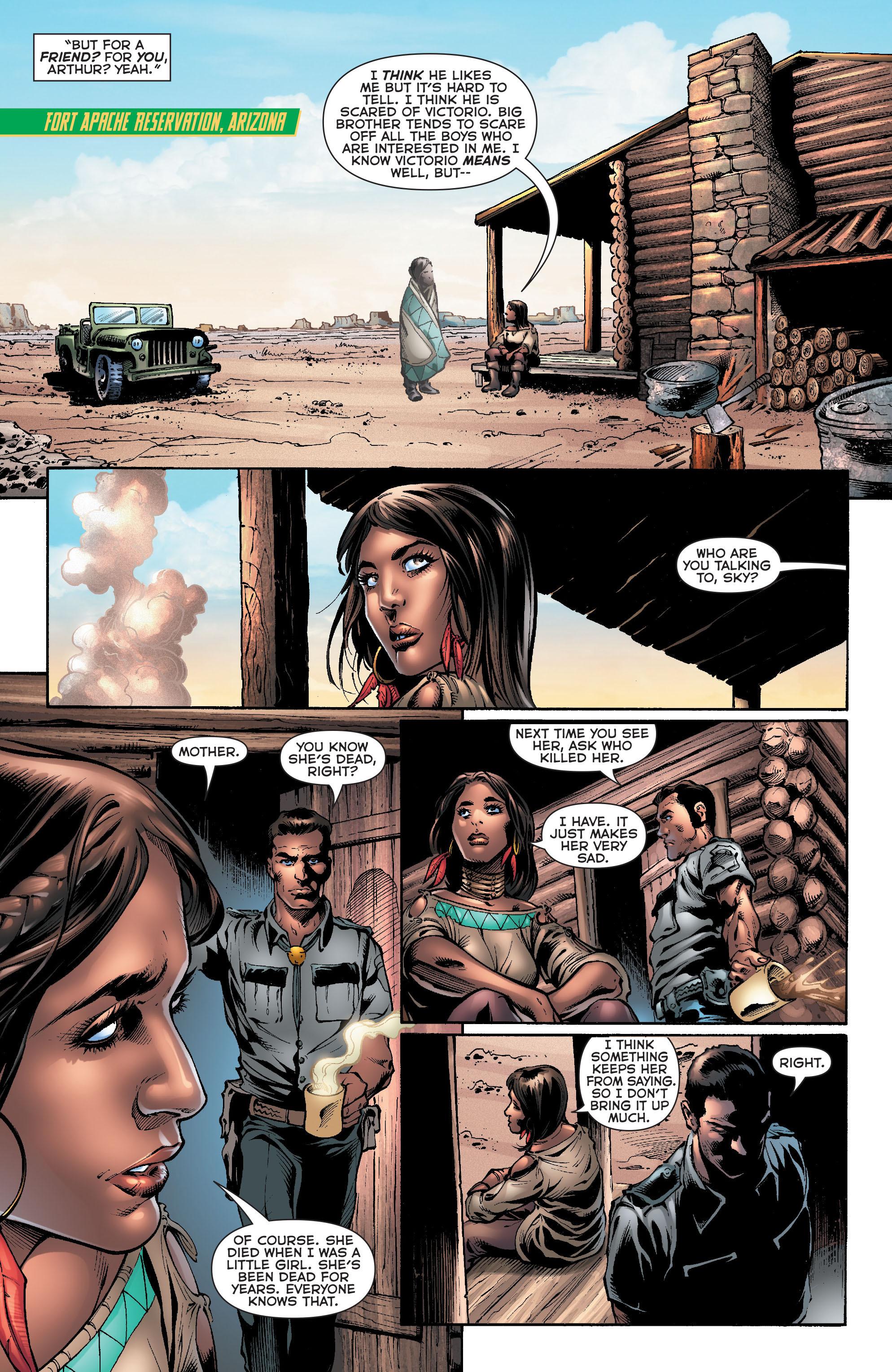 Read online Aquaman (2011) comic -  Issue #20 - 7