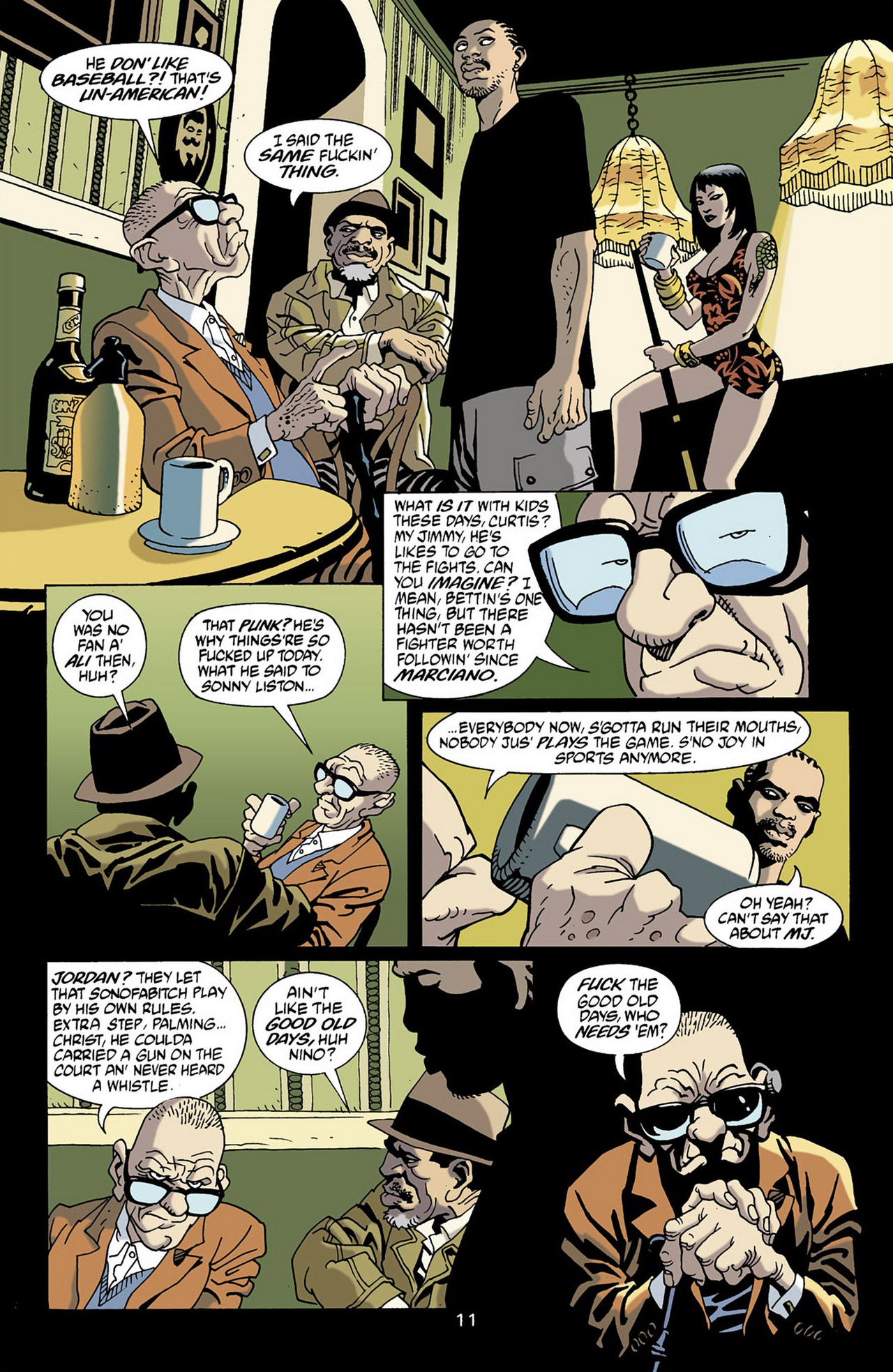 Read online 100 Bullets comic -  Issue #16 - 12