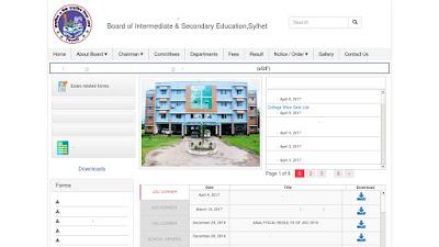 SSC result 2017 Sylhet Board