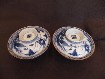 京焼き清水焼の代表作 五爪の龍 平八龍ご飯茶碗 kyoto 京都窯平八製蓋付茶碗 龍