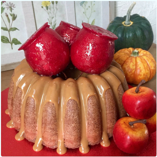 Toffee Apple Bundt Cake