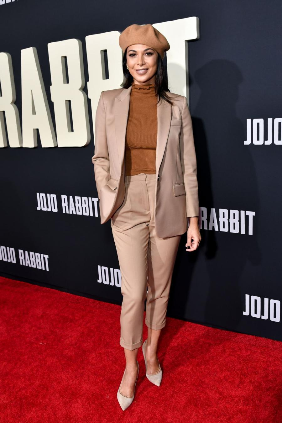 Moran Atias at Jojo Rabbit Premiere in Los Angeles