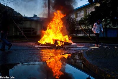 Osorno : 14 detenidos este martes 26 de noviembre