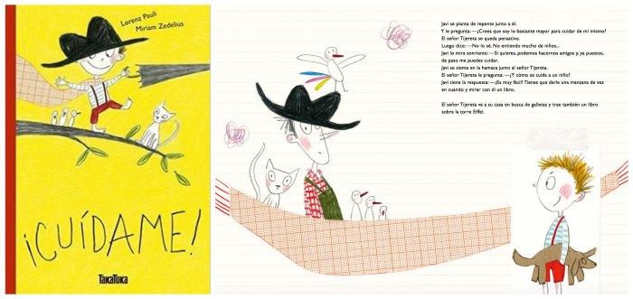 cuentos infantiles crianza respetuosa, con apego cuídame lorenz pauli