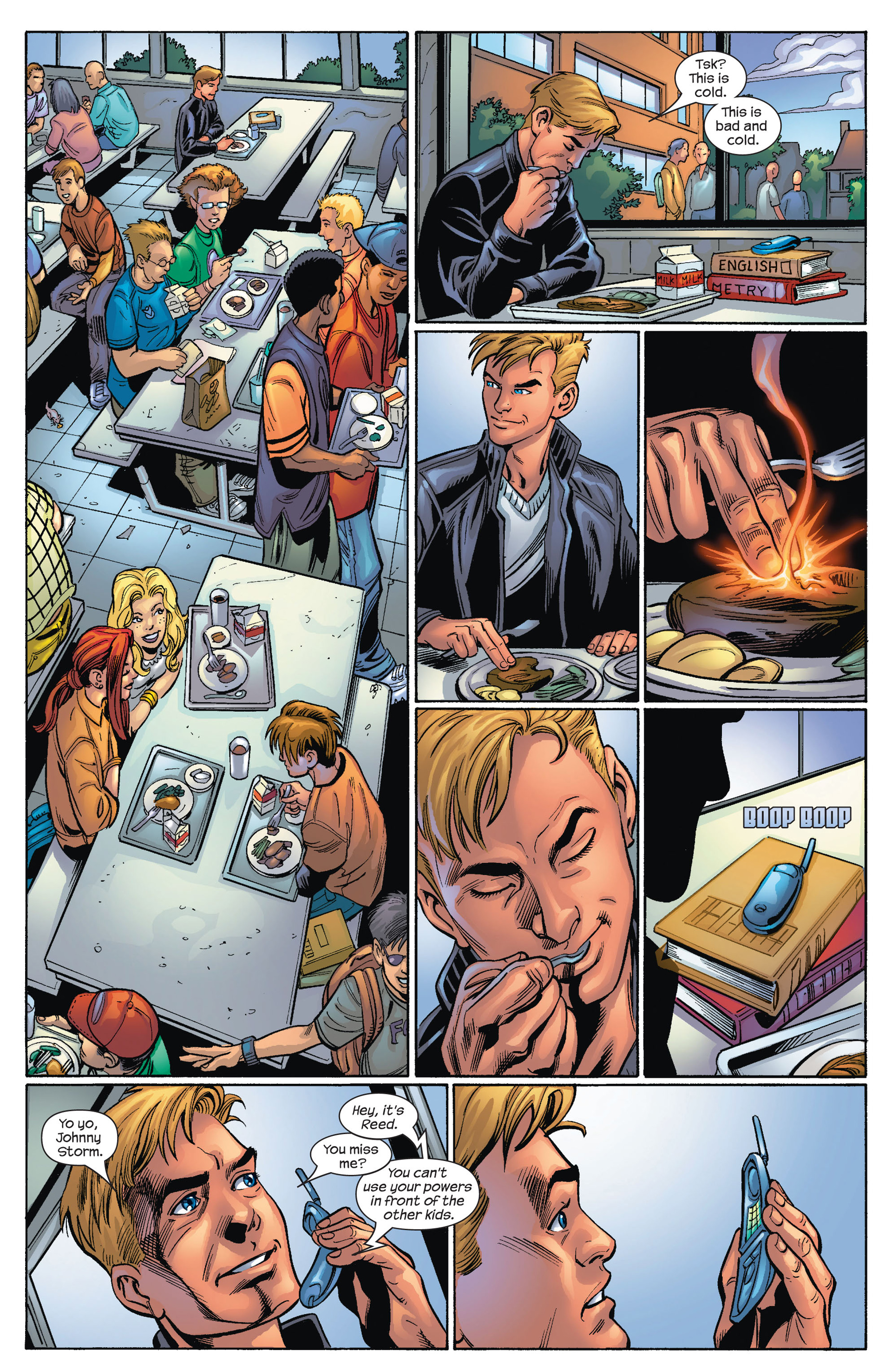 Read online Ultimate Spider-Man (2000) comic -  Issue #68 - 11