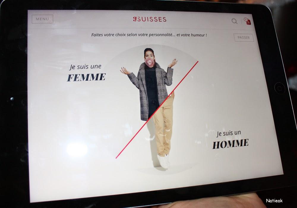 application tablette 3 suisses