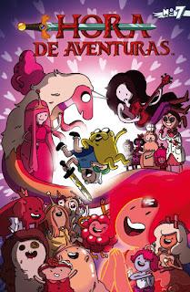 HORA DE AVENTURAS 7  Comic de Ryan North, Shelli Paroline, Braden Lamb
