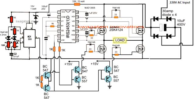 Diesel Generator RPM Controller Circuit ~ Electronic