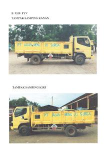 truk pengangkut limbah b3