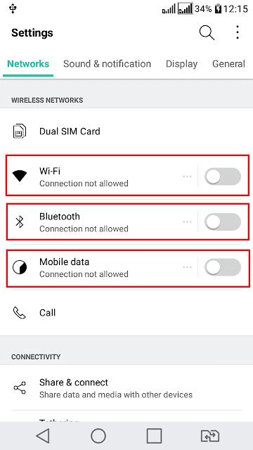 Batasi radio android hemat baterai