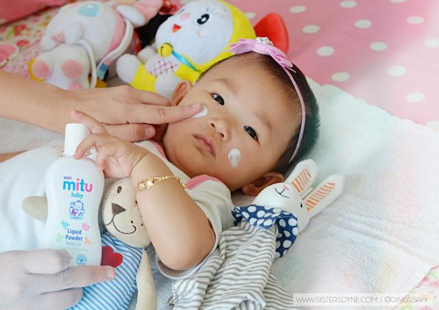 Aplikasi Mitu Baby Liquid Powder
