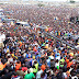 #10MillionStrong UHURU MUST GO!! that was the slogan at Jacaranda as Odinga promises low cost of living.