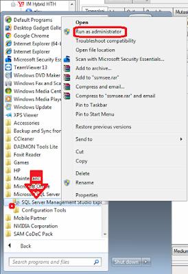 Cara Restore Database Sql Server